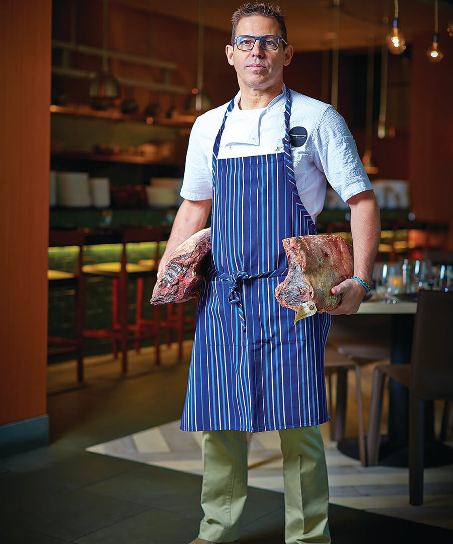 John Tesar is On Top of The Food Chain