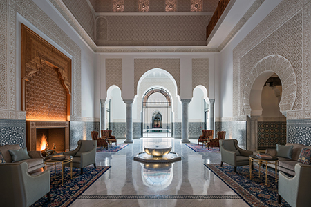The Lobby at The Oberoi