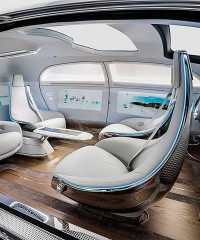 A Seriously Luxurious Self-Driving Concept Car