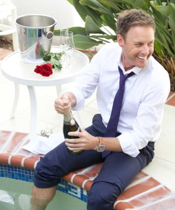 Everything's Coming Up Roses for The Bachelor's Chris Harrison