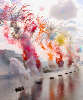 Hennessy and Artist Cai Guo-Quiang Create Pandemic-Inspired Fireworks