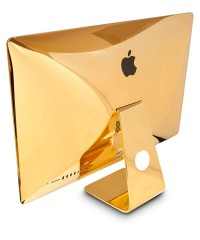Cover Your Computer in 24-Karat Gold Because…Why Not?