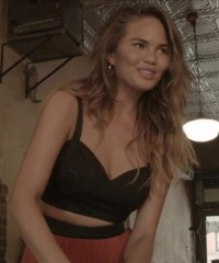 Behind The Scenes With July Cover Star, Chrissy Teigen