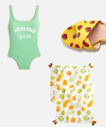 J.Crew and Edie Parker Partner For The Ultimate Summer Collab
