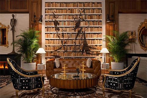 The lobby at The Ben West Palm