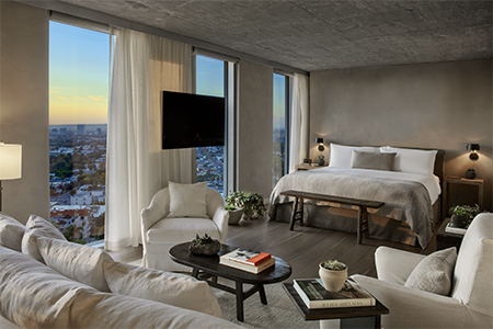 The Canyon House Suite at the 1 Hotel West Hollywood