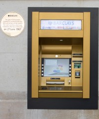 London Now Has an ATM Made of Gold