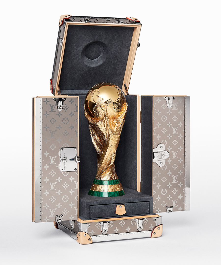 See Louis Vuitton's World Cup Trophy Travel Case