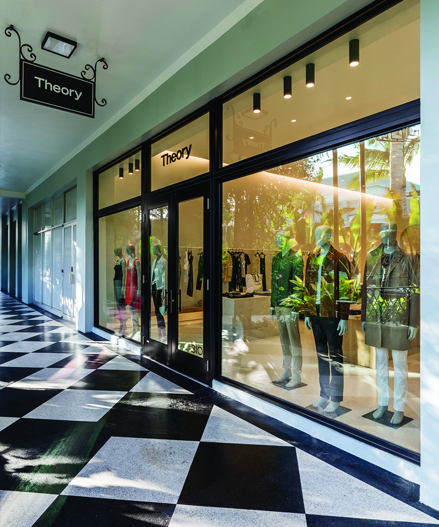 Theory Opens in Palm Beach, Florida