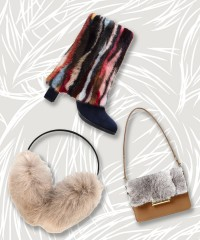 Stay Warm and Toasty This Winter with Fur Accessories