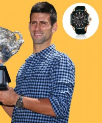 Watch & Learn: Novak Djokovic's Seiko