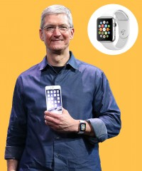 Watch & Learn: Tim Cook's Apple Watch