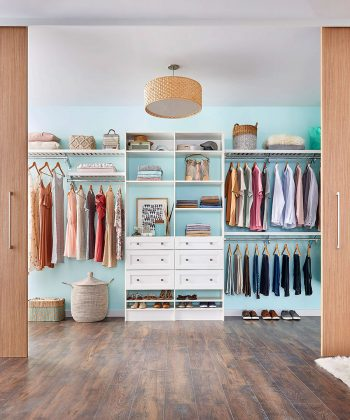 ClosetMaid helps us with ideas on how to get organized