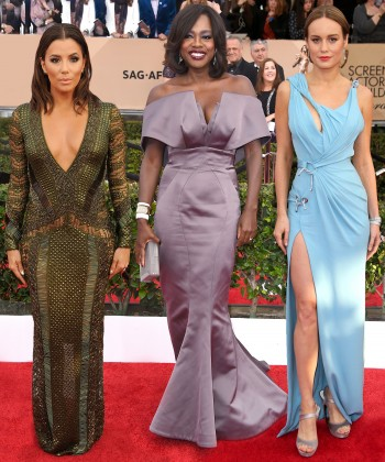 The Best Dressed Celebrities at the SAG Awards