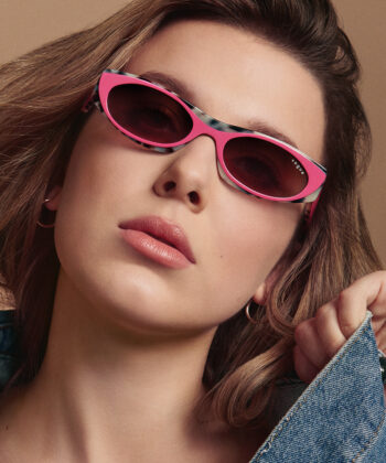 The Stranger Things star released her second co-designed capsule collection for Vogue Eyewear