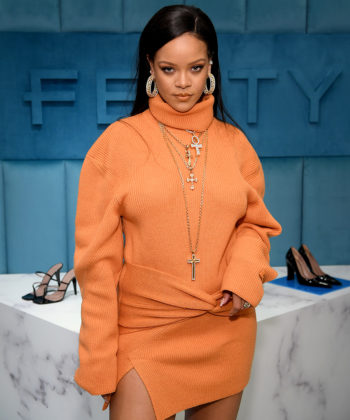 Robyn Rihanna Fenty Launches FENTY at Bergdorf Goodman