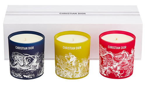Candles from the Dioriviera collection