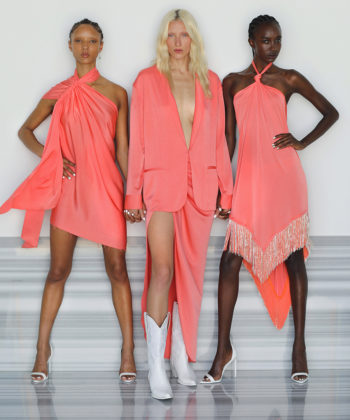 NYFW Trend: Shades of Salmon