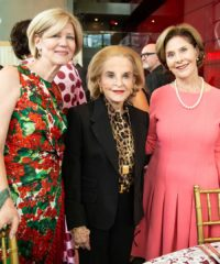 The Italian brand hosted former First Lady Laura Bush and other notable attendees at the celebratory luncheon