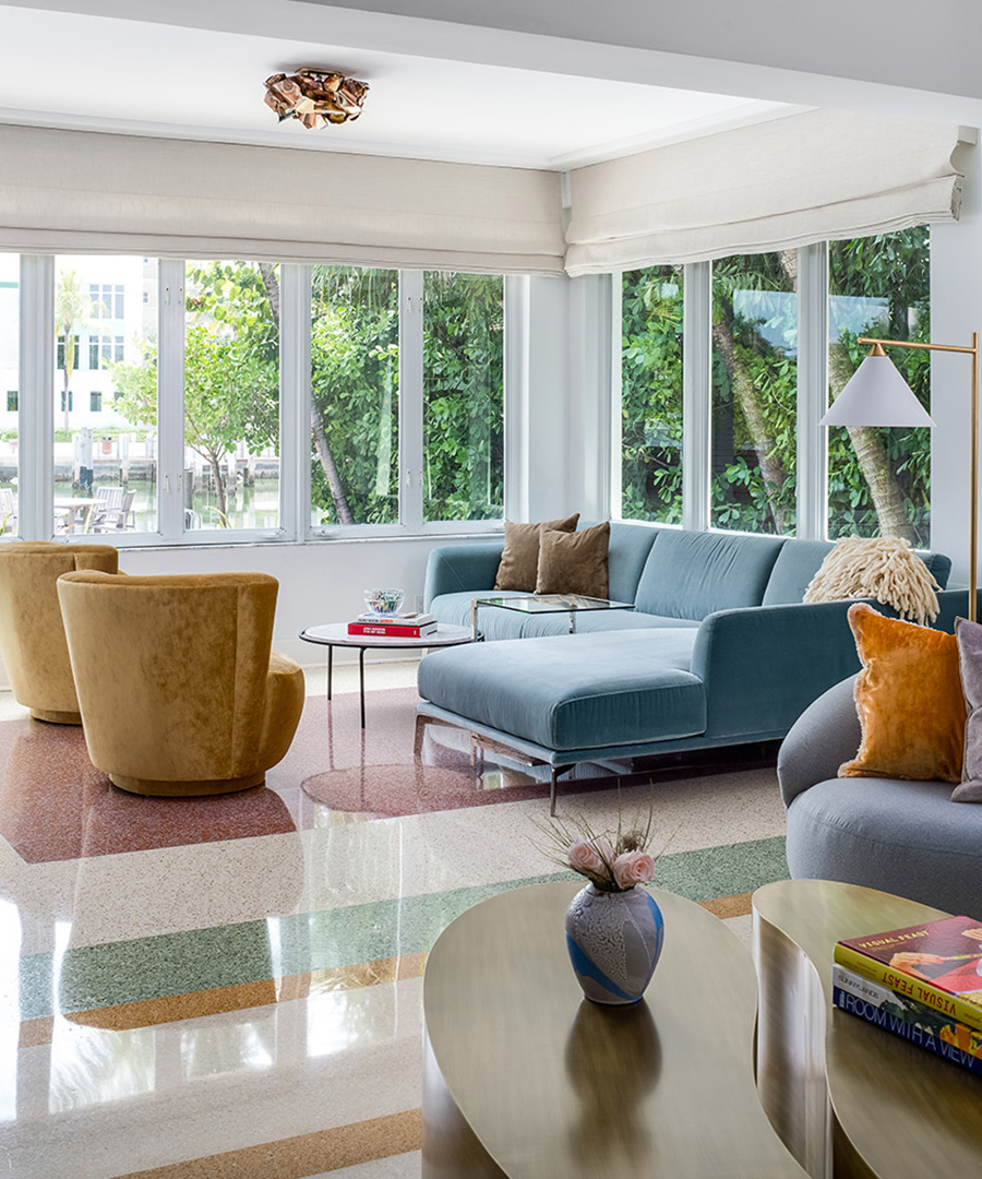 Tour a Chic Waterfront Miami Home