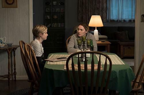Angourie Rice and Kate Winslet in Mare of Easttown (photo credit: Michele K. Short / HBO)