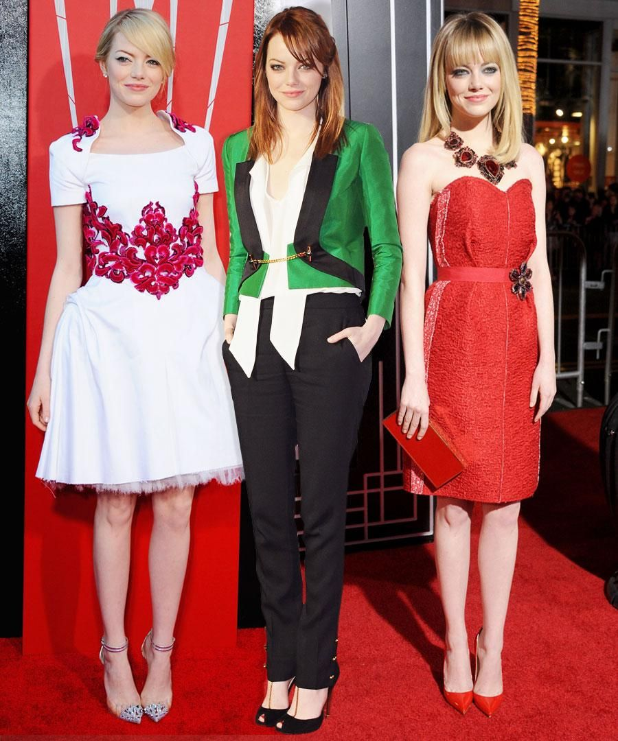The 12 Best Emma Stone Looks From 12 Months! – Gallery