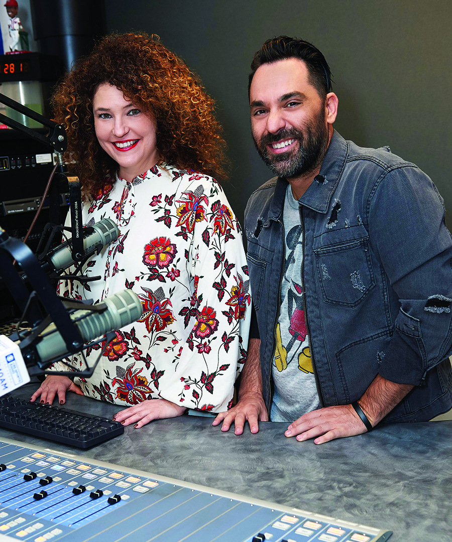 Meet Radio's Dynamic Duo