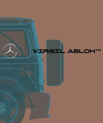 Virgil Abloh and Mercedes-Benz Are Making Exclusive Artwork