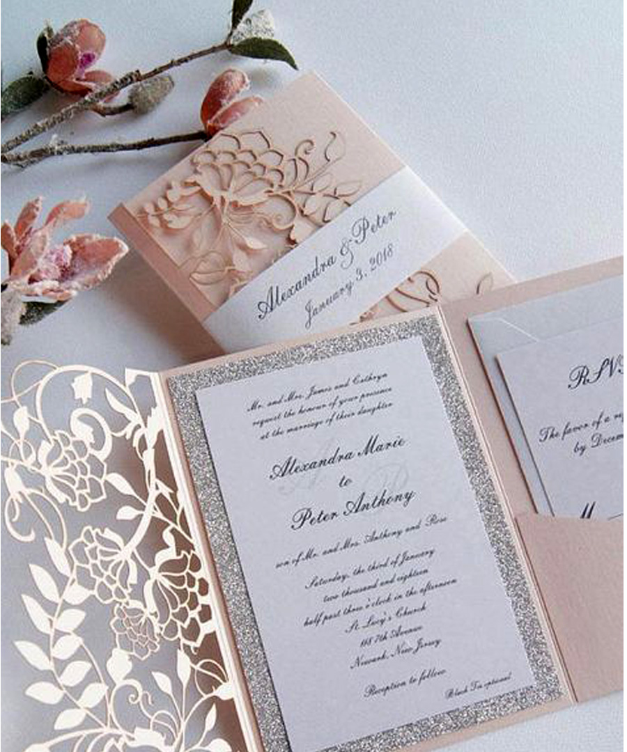6 Chic Wedding Invitation Ideas