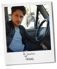 On Location with Peter Gadiot