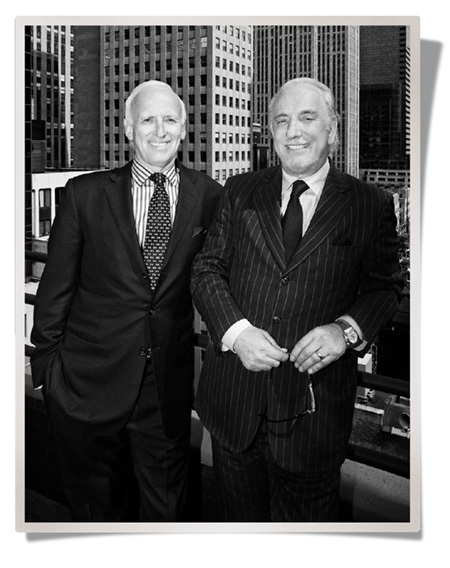 From left: Roberto Coin co-founders Peter Webster and Roberto Coin