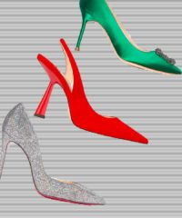 Wear these festive heels and be the belle of your holiday ball