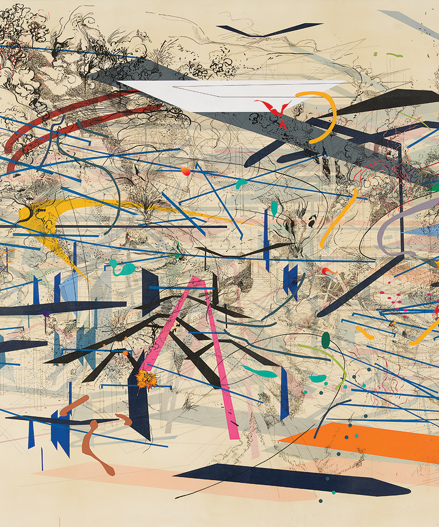 All Eyes on Artist Julie Mehretu