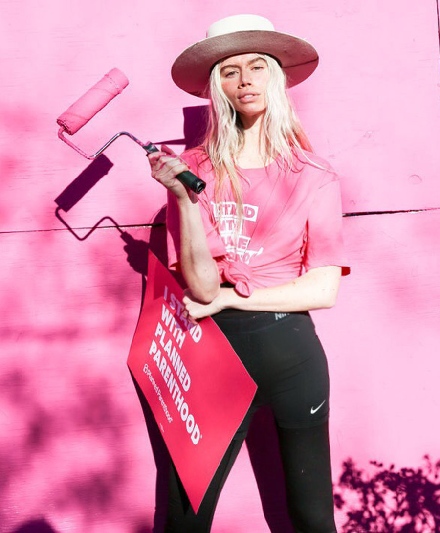 See a Planned Parenthood Mural Painted by Models