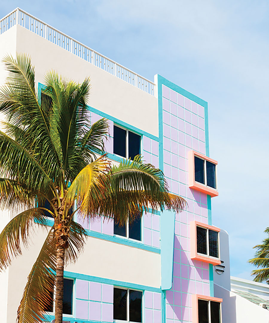 Outdoor Furnishings Inspired by South Beach