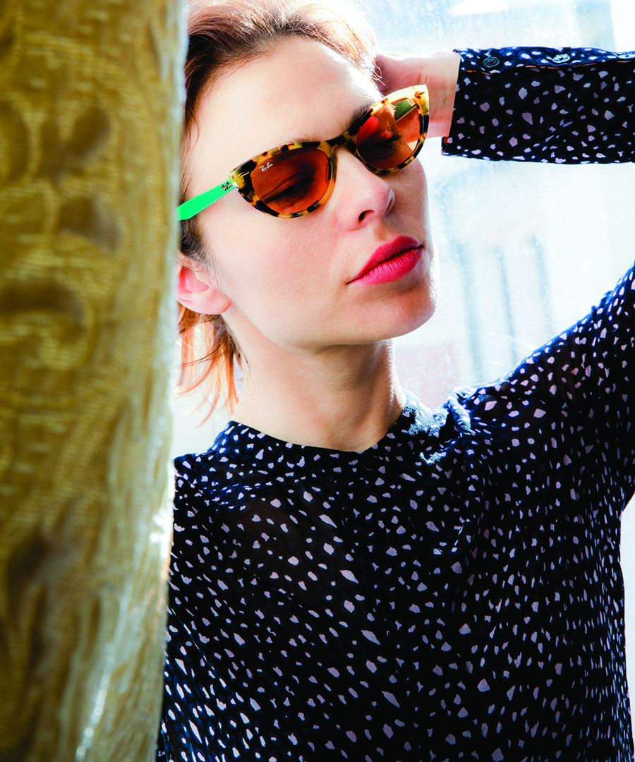Nina Kraviz Celebrates Style With Ray-Ban