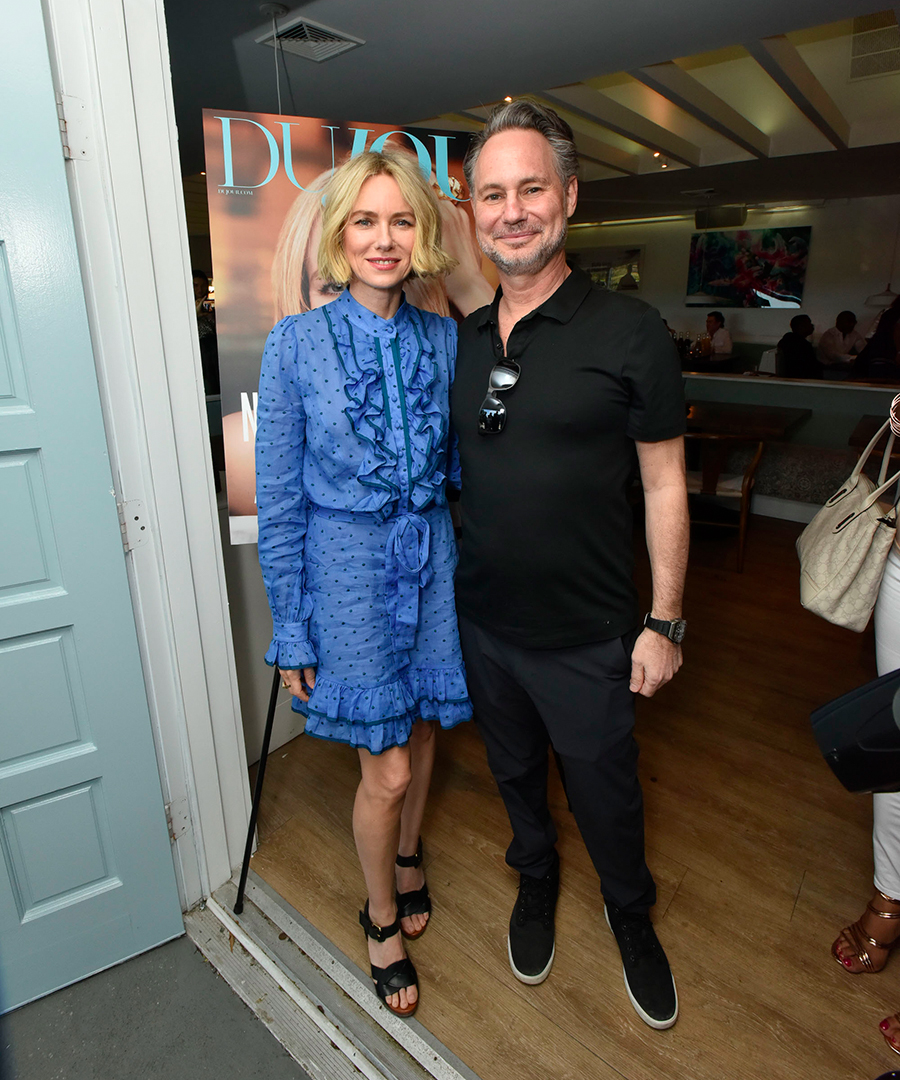 Inside DuJour's Cover Party With Naomi Watts