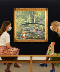 Sotheby's Presents Banksy's Show me the Monet at Third Livestream Auction