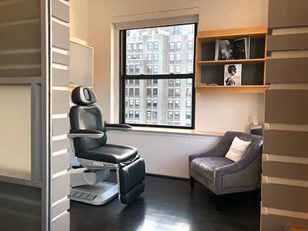A treatment room at the new Shafer Clinic