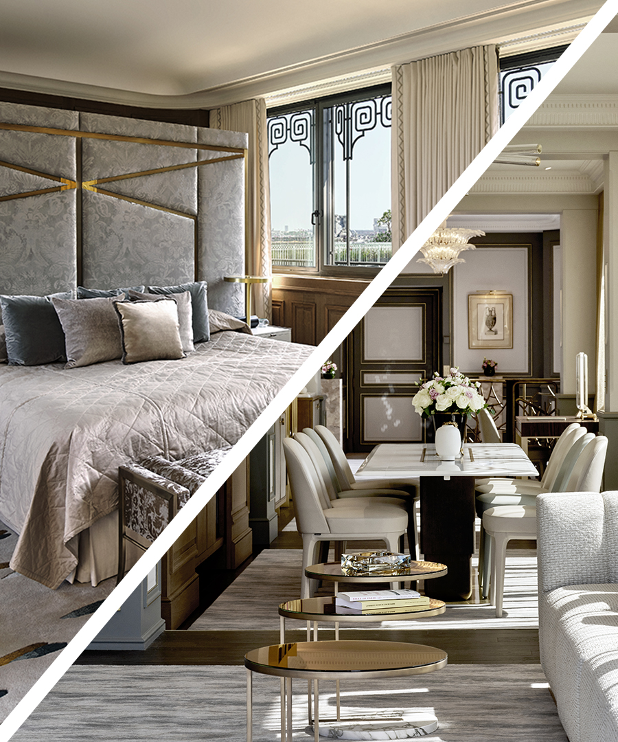 Room Request! Le Meurice Paris