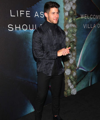 Nick Jonas and John Varvatos Toast to Villa One™ Tequila