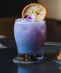 Drink DuJour: Violet Milk Punch