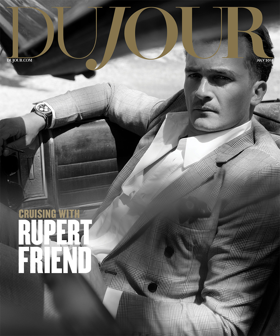 Rupert Friend is a Travelling Man
