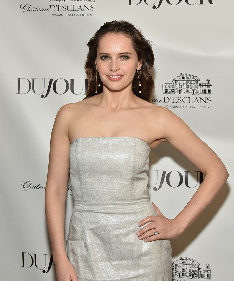 DuJour Celebrates Winter Cover Star Felicity Jones