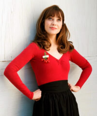 See How Zooey Deschanel Makes The Holidays More Personal