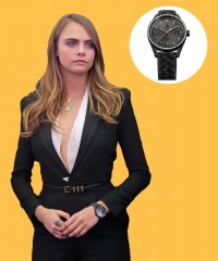 Watch & Learn: Cara Delevingne's Tag Heuer