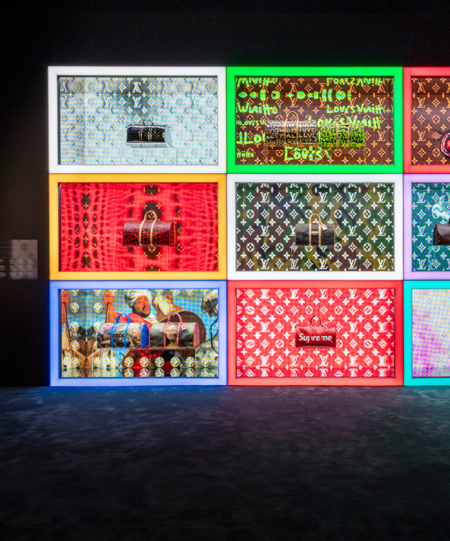 An Inside Look at Louis Vuitton's Unique Exhibition