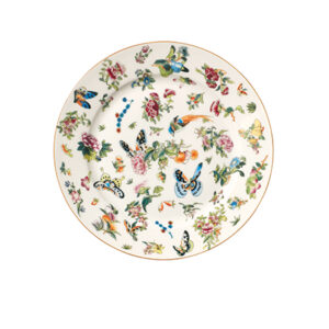 A plate from Lippes' tabletop line for OKA