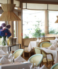 Savor a stylish meal at this waterfront restaurant out in Sag Harbor