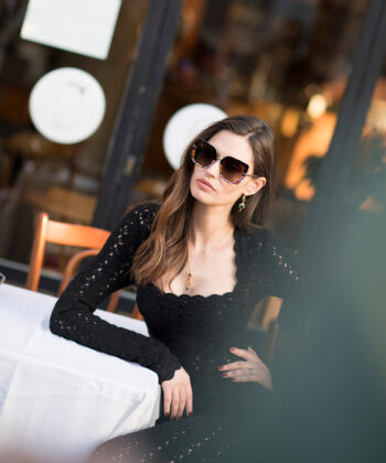 Go Behind The Scenes of Dolce & Gabbana's Latest Eyewear Campaign